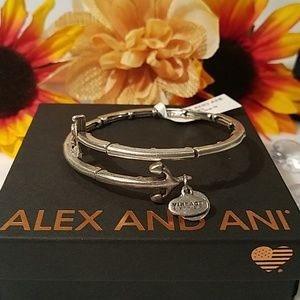Alex and Ani Anchor wrap bracelet